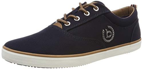 bugatti Herren 321502046900 Sneaker, Blau, 45 EU