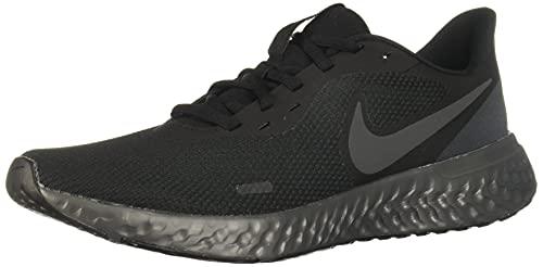 Nike Herren Revolution 5 Sneaker, Black Anthracite, 44 EU