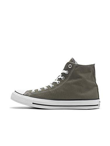 Converse Herren Chuck Taylor All Star High Top Sneaker, Grau Charcoal, 42 EU