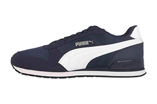 PUMJV|#Puma St Runner V2 Mesh, (Peacoat-Puma White 03), 10.5 (45 EU) EU