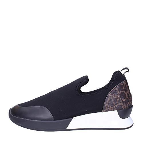 Calvin Klein UOMO SNEAKERS BROWN BLACK E4452