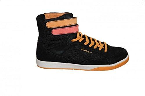 Circa Skateboard Damen Schuhe Havw Black/Orange Sneakers high, Schuhgrösse:37