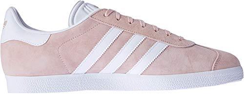 adidas Unisex-Erwachsene Gazelle Sneaker, Rosa (Vapour Pink/White/Gold Met), 41 1/3