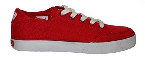 Circa Skateboard Damen Schuhe 50 CL Red Sneakers Shoes, Schuhgrösse:37