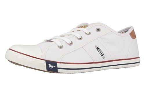 Mustang Damen 1099-302-1 Sneaker, Weiß (weiß 1), 40 EU