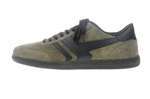 Boras Sneaker in Übergrößen Grün 3541-1527 große Herrenschuhe, Größe:52