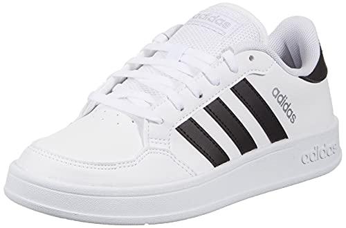 adidas Damen Breaknet Sneaker, Ftwwht Cblack Silvmt, 39 1/3 EU