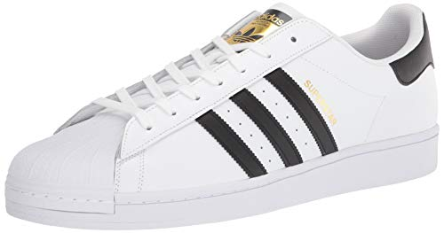 adidas Unisex-Erwachsene Superstar Low-Top, Weiß (Ftwr White/Core Black/Ftwr White), 38 EU