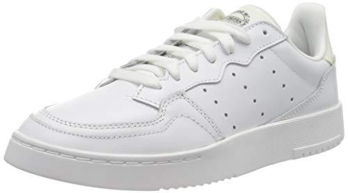 adidas Originals Damen Supercourt Sneaker, Footwear White/Off White/Core Black, 42 2/3 EU