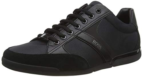 BOSS Herren Saturn Lowp Lowtop Sneakers mit speziellem Innenfutter Größe 46