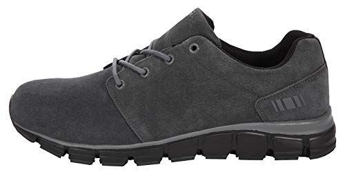 Boras Sneaker in Übergrößen Grau 5210-0985 große Herrenschuhe, Größe:50