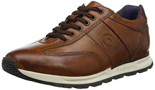 bugatti Herren 311819021100 Niedrig Sneaker, Braun Cognac 6300, 42 EU