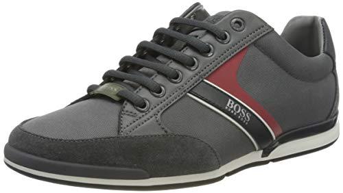 BOSS Herren Saturn_Lowp_mx Sneaker, Dark Grey26, 46 EU, 11 UK