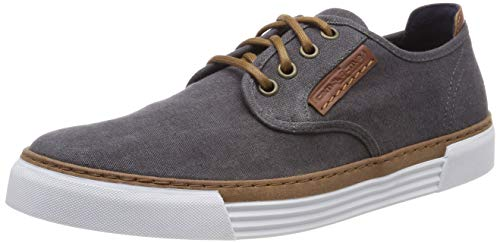 Camel active Herren Racket Sneaker, Grau (dk.grey 09), 46 EU (11 UK)