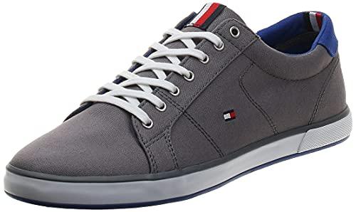 Tommy Hilfiger Herren H2285arlow_1d' Sneaker, Steel Grey, 45 EU