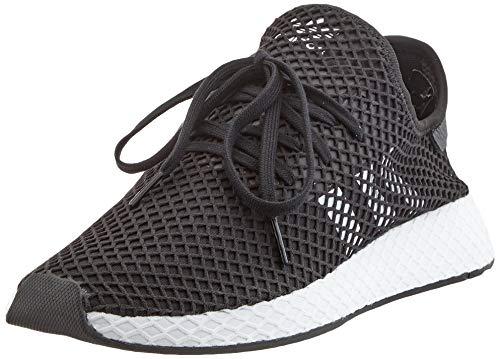 adidas Herren Originals Deerupt Runner BD7890 Fitnessschuhe, Schwarz (Negbás/Ftwbla/Negbás 000), 43 1/3 EU