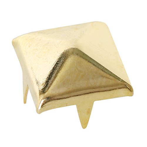TRIXES 100 x Pyramid Punk Rock Leather Bag Shoe Rivets for Fashion Crafts and Design