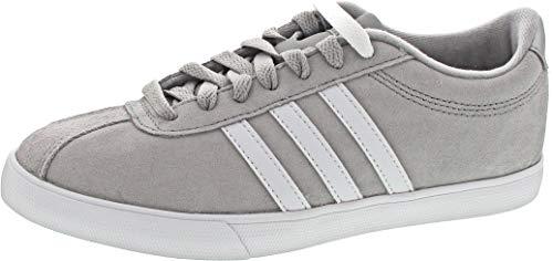 adidas Damen Courtset Fitnessschuhe, Grau (Griuno/Ftwbla/Plamet 000), 39 1/3 EU