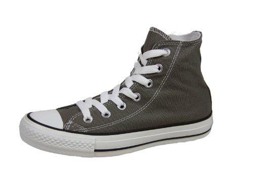 Converse Chuck Taylor All Star, Unisex-Erwachsene Hohe Sneakers, Grau (Charcoal), 39 EU
