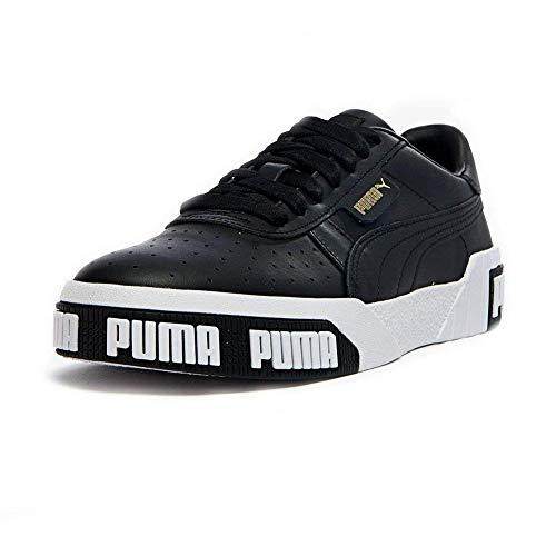Puma Damen Cali Bold WN's' Sneaker, Black-Metallic Gold 03, 39 EU
