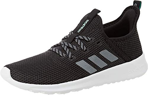 adidas Damen Cloudfoam Pure Sneaker, Core Black/Grey/Grey, 39 1/3 EU