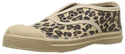 Bensimon Unisex-Kinder T Elly Panthe Sneaker, Elfenbein (Sable 0110), 30 EU