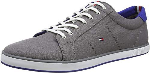 Tommy Hilfiger Herren H2285arlow 1d Turnschuh, Grau (Steel Grey 039), 45 EU