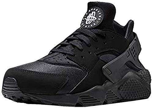 Nike Herren AIR Huarache Sneaker, Schwarz Black White Black 003, 44 EU