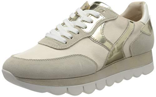 Tamaris Damen 1-1-23746-26 Sneaker, Sneaker, beige comb, 39 EU