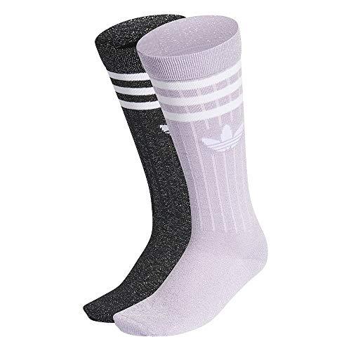 adidas Damen Full Gl Crew Socken, purple tint/black, M EU
