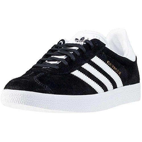adidas Unisex-Erwachsene Gazelle Sneakers -Schwarz (Cblack/White/Goldmt) - 38 2/3 EU