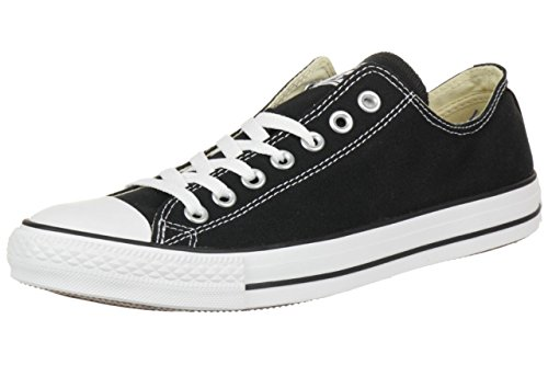 Converse All Star Ox Canvas Schwarze Sneakers-UK 8
