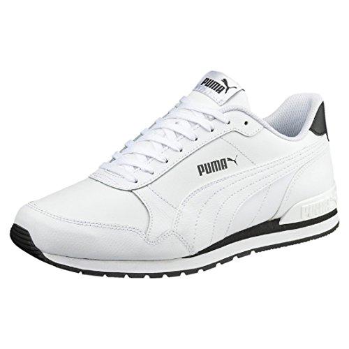 Puma ST Runner V2 Full L, Unisex Sneaker, Weiß (PUMA White-PUMA White 01), 42 EU (8 UK)