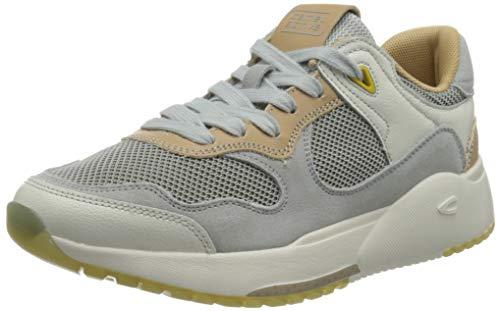 camel active Damen Ramble Sneaker, Light Grey, 36 EU