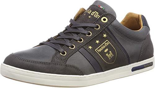 Pantofola d'Oro Herren MONDOVI Uomo Low Sneaker, Grau (Dark Shadow .7Zw), 46 EU