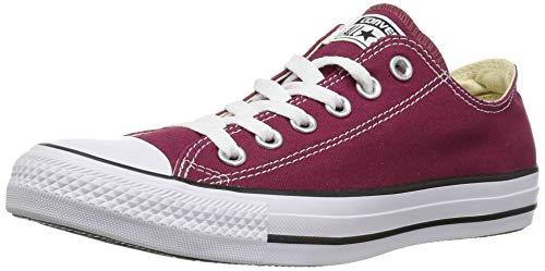 CONVERSE Chuck Taylor All Star Seasonal Ox, Unisex-Erwachsene Sneakers, Rot (Bordeaux), 43 EU