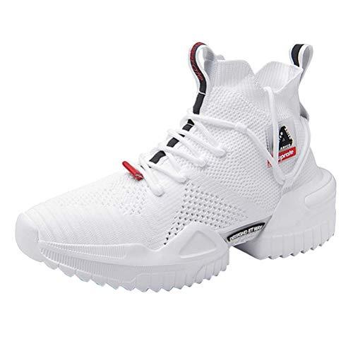 AHICO Men Walking Schuhe Modetrainer Laufen Athletic Non Slip Platform Schuh Stylish Casual Fitness Komfortable Sportarten