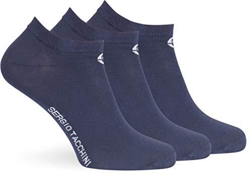 Sergio Tacchini Sneaker Socks 3PK blu marine, ST725.E3P, 43/46