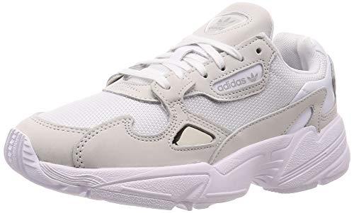 adidas Damen Falcon W Fitnessschuhe, Weiß (Ftwbla/Ftwbla/Balcri 000), 39 1/3 EU