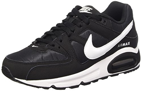 Nike Damen Air Max Command Sneaker, Schwarz (Black/White 021), 38.5