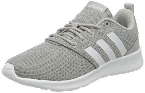 adidas Damen QT Racer 2.0 Sneaker, Grey/Cloud White/Grey, 39 1/3 EU