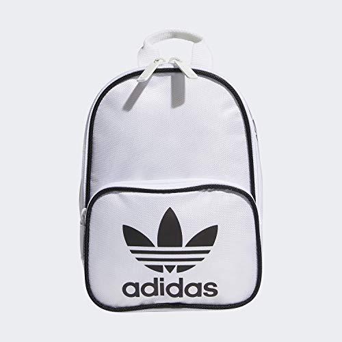 adidas Originals Damen Santiago Mini Rucksack, Damen, Rucksack, Originals Santiago Mini Backpack, Weiß, Einheitsgröße