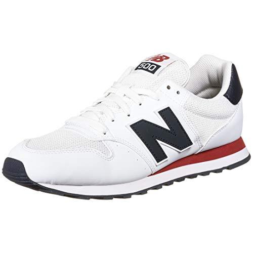 New Balance Herren 500 Core Sneaker, weiß (weiß), 43 EU