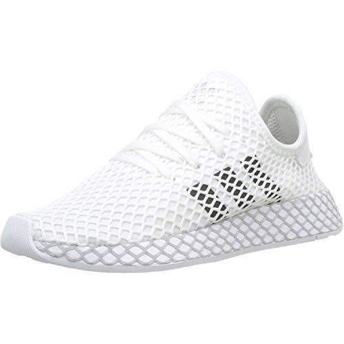 Adidas Unisex-Erwachsene Deerupt Runner J Fitnessschuhe, Weiß(ftwr white/core black/GREY TWO F17), 39 1/3 EU(6 UK)