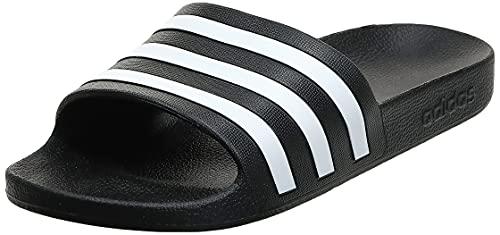 adidas Unisex Adilette Aqua Dusch-& Badeschuhe, Schwarz Black F35543, 43 EU