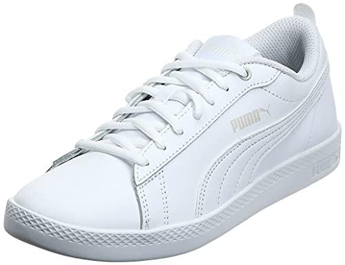 PUMA Damen Smash WNS v2 L Sneaker, White White, 40 EU