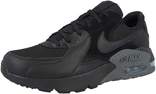 Nike Herren Air Max Excee Sneaker, Black/Black-Dark Grey, 44.5 EU