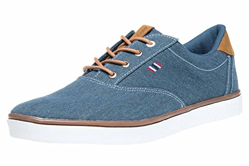 Boras Fashion Sports Sneaker Canvas Denim Blue, Größe Herren:42 EU