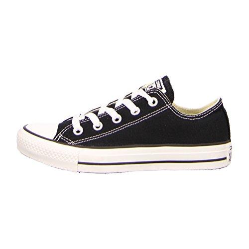 CONVERSE Chuck Taylor All Star Seasonal Ox, Unisex-Erwachsene Sneakers, Schwarz (Black), 43 EU