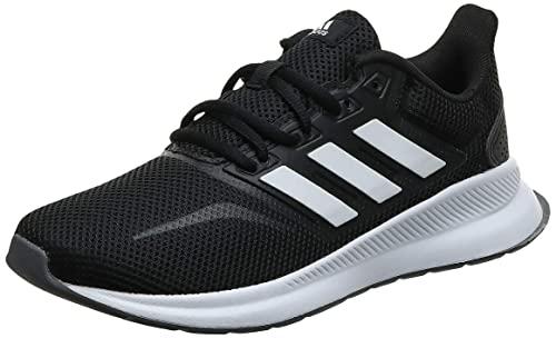adidas Damen Falcon Laufschuhe, Schwarz (Core Black/Footwear White/Grey 0), 41 1/3 EU